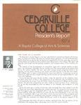 1973-1974 Cedarville College Annual Report by Cedarville College
