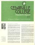 1971-1972 Cedarville College Annual Report by Cedarville College