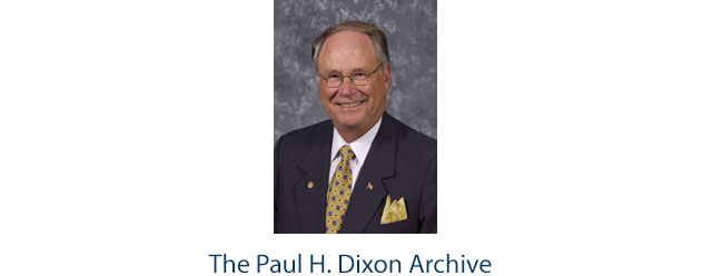 The Paul H. Dixon Archive