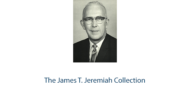 The James T. Jeremiah Collection