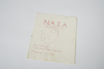 N.A.I.A. District 22 Play-offs Programs