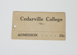 Admission Ticket by Cedarville College