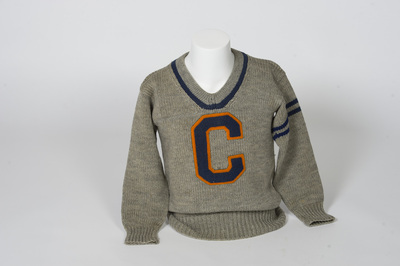 Football Letter Sweater