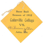 Cedarville vs. Wilmington Baseball Pass by Cedarville College