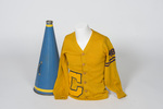 Cheerleader Letter Sweater and Megaphone by Cedarville College
