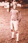 J. Albert Turner in Football Uniform