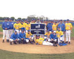 NCCAA Baseball Regional Champions by Cedarville College