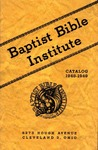 1948-1949 Baptist Bible Institute Academic Catalog