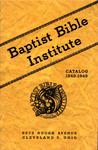 1948-1949 Baptist Bible Institute Academic Catalog