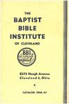 1946-1947 Baptist Bible Institute Academic Catalog