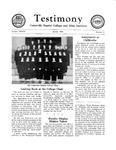 Testimony, March 1954