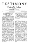 Testimony, April 1955