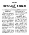 Bulletin of Cedarville College, January 1956
