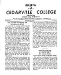 Bulletin of Cedarville College, February 1956