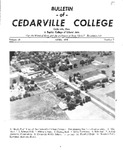 Bulletin of Cedarville College, April 1956