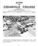 Bulletin of Cedarville College, April 1956
