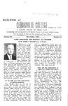 Bulletin of Cedarville College, November 1957