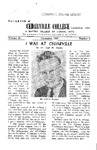 Bulletin of Cedarville College, December 1957