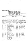 Bulletin of Cedarville College, March 1958