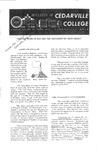 Bulletin of Cedarville College, October 1961