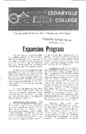 Bulletin of Cedarville College, November 1962