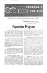 Bulletin of Cedarville College, November 1962