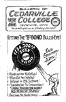 Bulletin of Cedarville College, March 1963