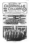 Bulletin of Cedarville College, September 1963