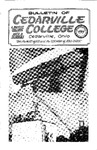 Bulletin of Cedarville College, October 1963