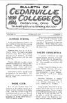Bulletin of Cedarville College, February 1964