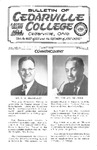 Bulletin of Cedarville College, April 1964