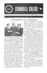 Bulletin of Cedarville College, December 1964