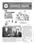 Bulletin of Cedarville College, June/July 1966
