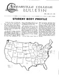 Cedarville College Bulletin, December 1966/January 1967