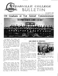 Cedarville College Bulletin, August/September 1967