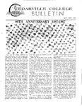 Cedarville College Bulletin, October/November 1967