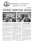 Cedarville College Bulletin, August/September 1968