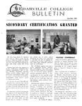 Cedarville College Bulletin, August/September 1968