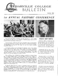 Cedarville College Bulletin, October/November 1968