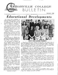Cedarville College Bulletin, February/March 1969