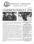 Cedarville College Bulletin, June/July 1970