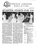 Cedarville College Bulletin, October/November 1970