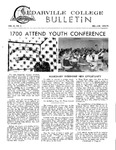 Cedarville College Bulletin, December/January 1970-1971
