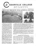 Cedarville College Bulletin, December 1971/January 1972