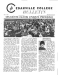 Cedarville College Bulletin, February/March 1972