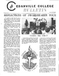 Cedarville College Bulletin, October/November 1972
