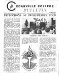 Cedarville College Bulletin, October/November 1972