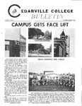Cedarville College Bulletin, October/November 1973