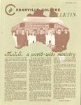 Cedarville College Bulletin, Fall 1975