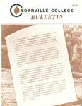Cedarville College Bulletin, Fall 1977